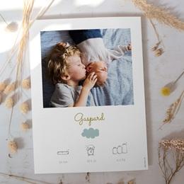 Affiche Déco Chambre Enfant Septième Ciel, Portrait Garçon gratuit