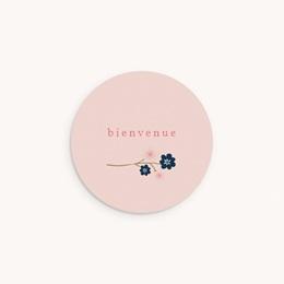 Sticker Enveloppe Naissance Bloom