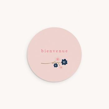 Sticker Enveloppe Naissance Bloom original