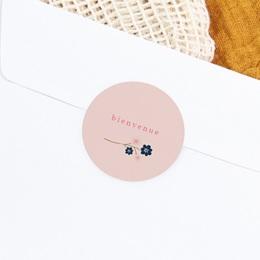 Sticker Enveloppe Naissance Bloom gratuit