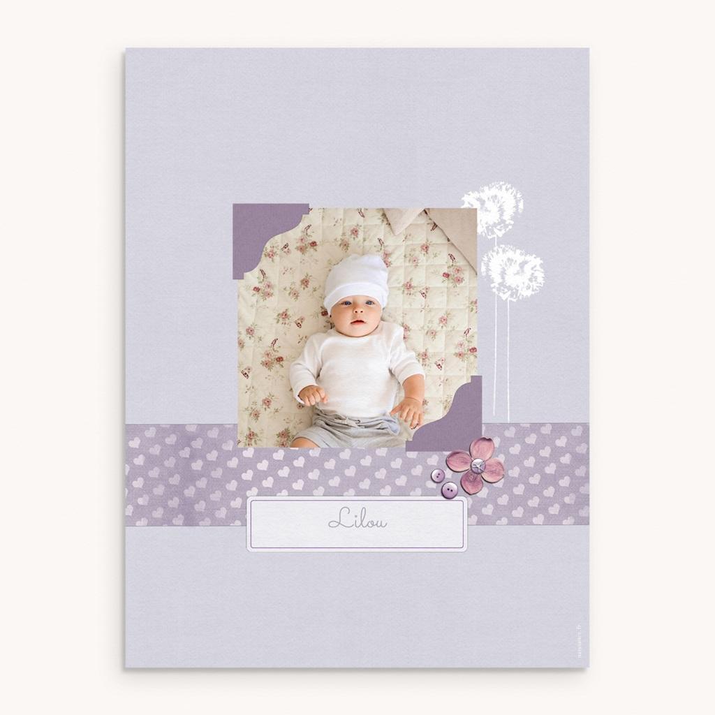 Affiche Déco Chambre Enfant Lilas