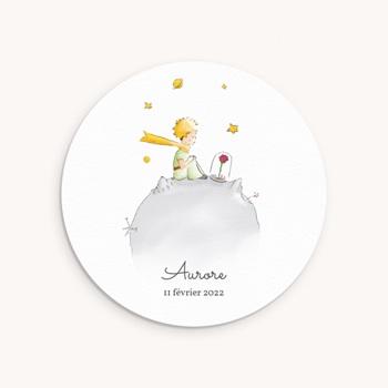 Faire-part de Naissance La planète du Petit Prince original