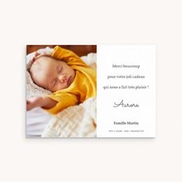 Carte de Remerciement Naissance La planète du Petit Prince pas cher