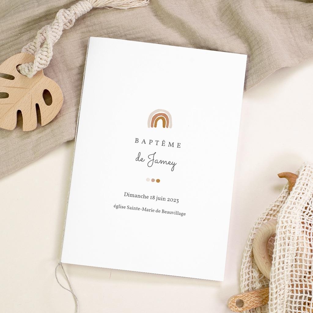 Livret de Messe Baptême Couronne enchantée, Couverture gratuit