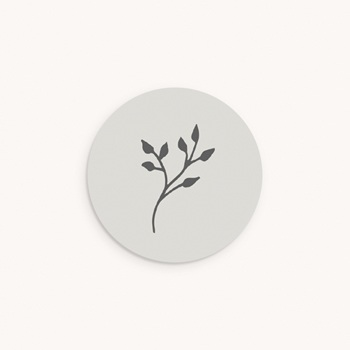 Sticker Enveloppe Baptême Sweet brin floral pas cher