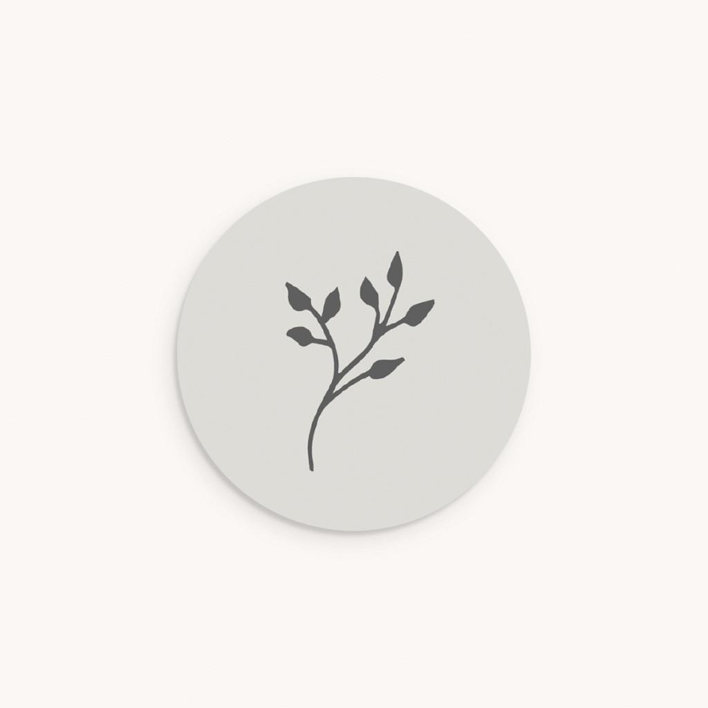 Sticker Enveloppe Baptême Sweet brin floral