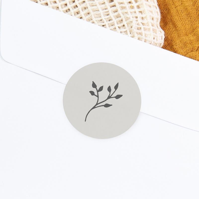 Sticker Enveloppe Baptême Sweet brin floral gratuit