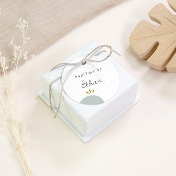 Étiquettes Cadeau Baptême Avec Amour, cadeau