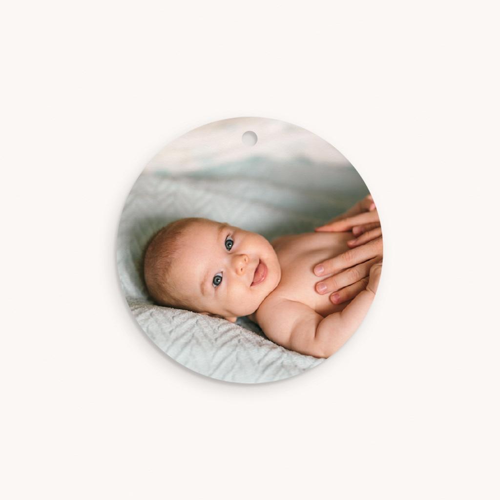 Étiquettes Cadeau Baptême Avec Amour Fille, souvenir pas cher