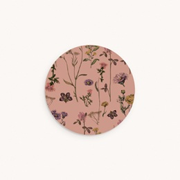 Sticker Enveloppe Baptême Botanic Floral