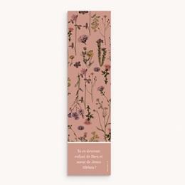 Signet de Baptême Botanic floral, 1 photo pas cher