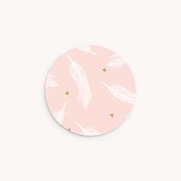 Sticker Enveloppe Baptême Envol