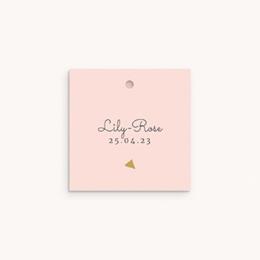 Étiquettes Cadeau Baptême Envol