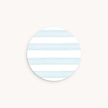 Sticker Enveloppe Baptême Petit Bateau