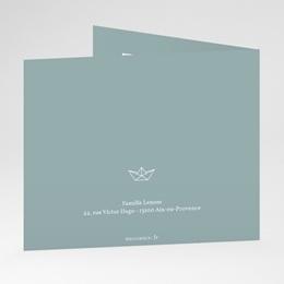 Carte de Remerciement Baptême Petit Bateau gratuit