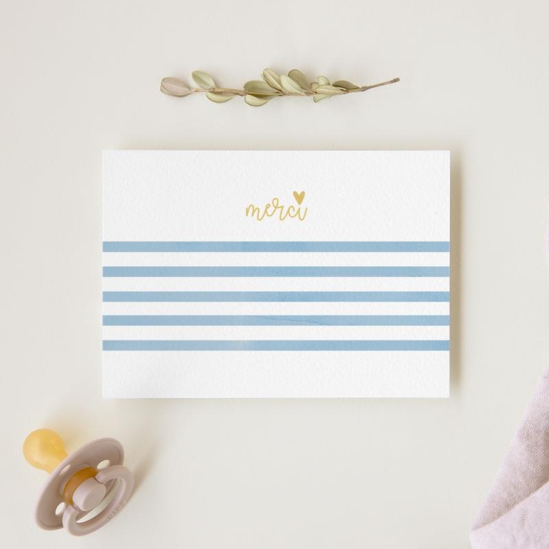 Carte de Remerciement Baptême Joli jour gratuit