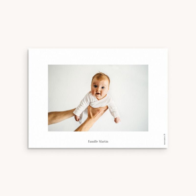 Carte de Remerciement Baptême Joli jour pas cher