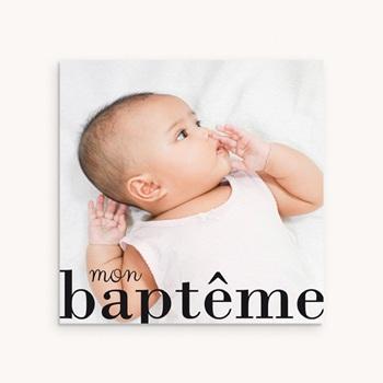 Faire-part de Baptême Joli jour pas cher