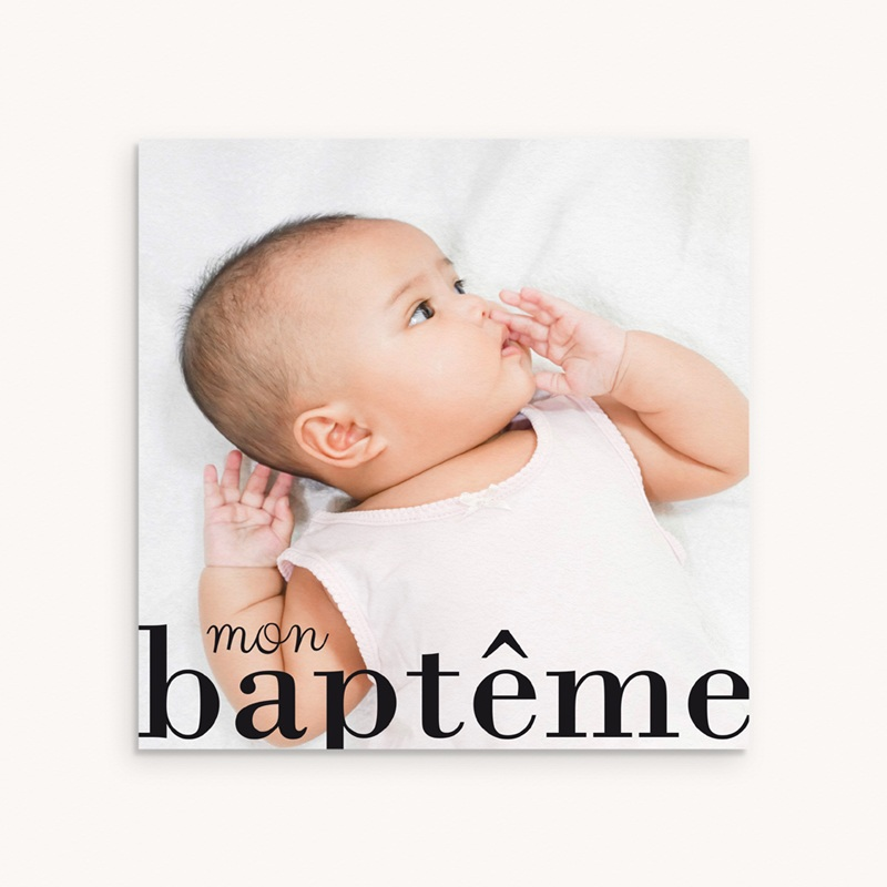 Faire-part de Baptême Joli jour