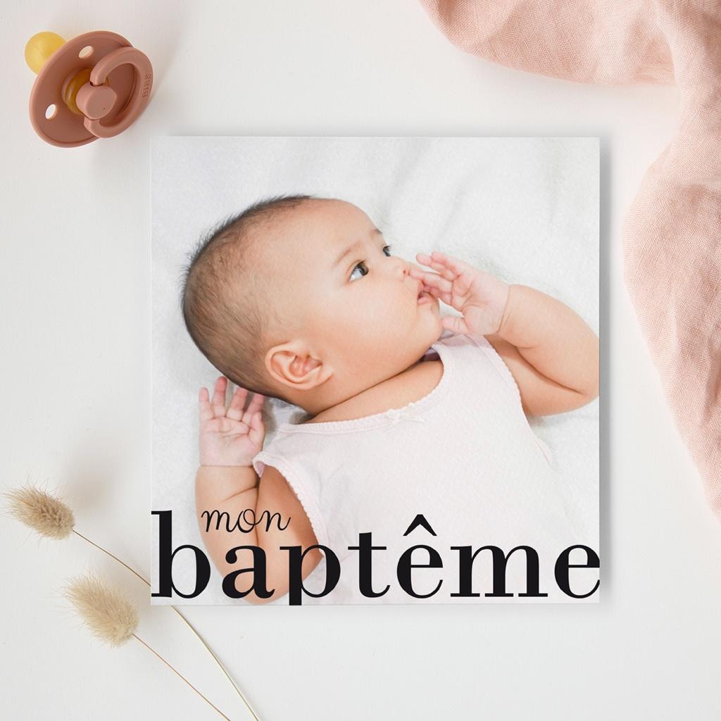 Faire-part de Baptême Joli jour gratuit