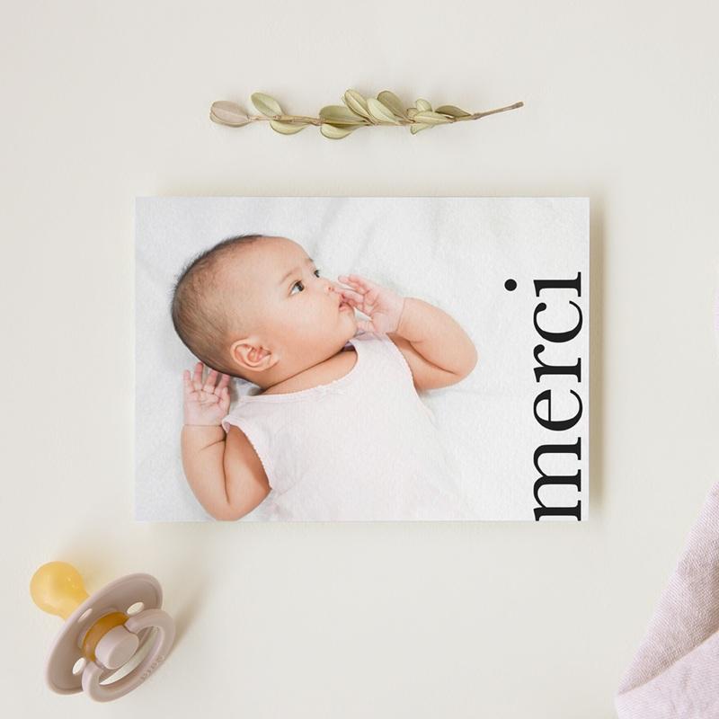 Carte de Remerciement Baptême Joli Jour, Photo gratuit