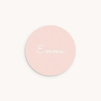 Sticker Enveloppe Baptême Lily-Rose, prénom