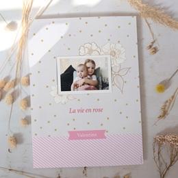 Affiche Déco Chambre Enfant Vie en Rose gratuit