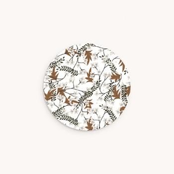 Sticker Enveloppe Naissance Liberty cerisier du japon personnalisé
