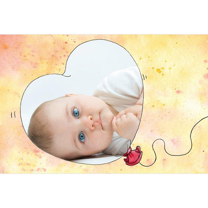 Faire-part de Naissance Baby Love gratuit