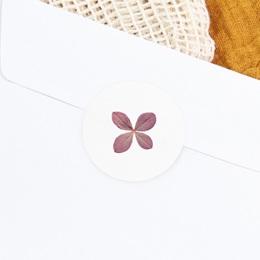 Sticker Enveloppe Naissance Herbier Parme, 4,5 cm gratuit