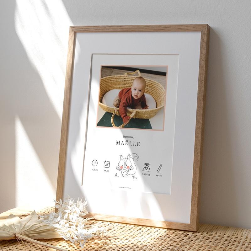 Affiche Déco Chambre Enfant Petit écureuil