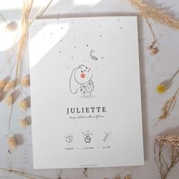 Affiche Déco Chambre Enfant Petit Lapin illustré gratuit