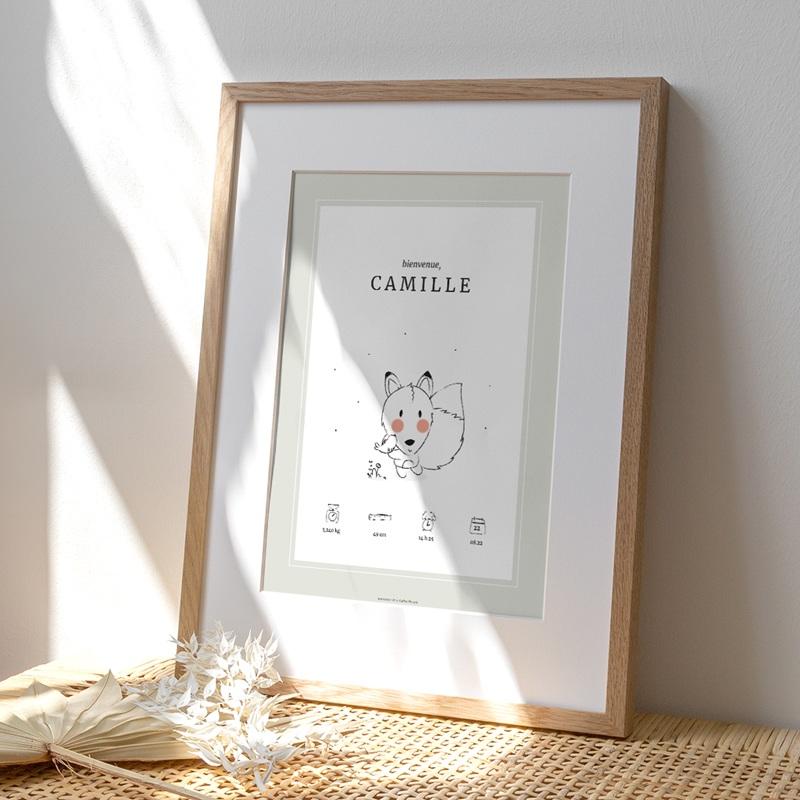 Affiche Déco Chambre Enfant Petit renard