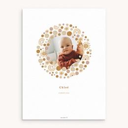 Affiche Déco Chambre Enfant Galaxie ensoleillée, Photo, 30 x 40 cm