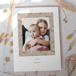 Affiche Déco Chambre Enfant Liberty beige, Photo de Famille gratuit