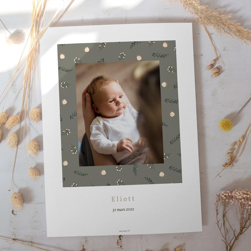 Affiche Déco Chambre Enfant Liberty Kaki, Portrait de famille gratuit