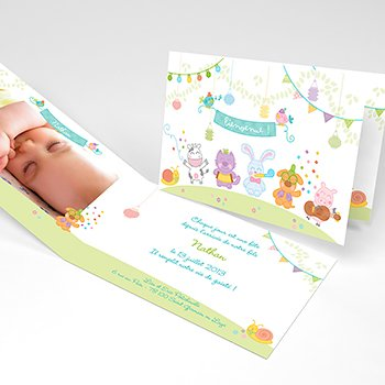 Faire-part de Naissance Happy original