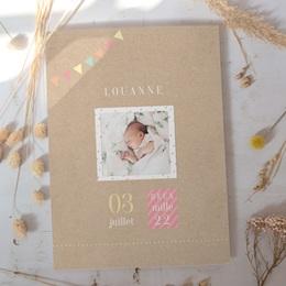 Affiche Déco Chambre Enfant Pastel Kraft fille gratuit