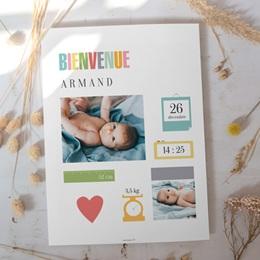 Affiche Déco Chambre Enfant Mémo garçon gratuit