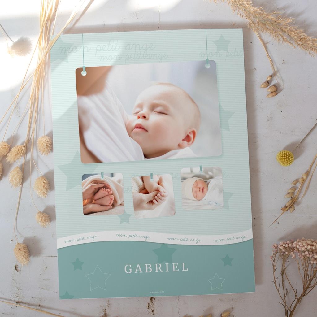 Affiche Déco Chambre Enfant Tendresse garçon gratuit
