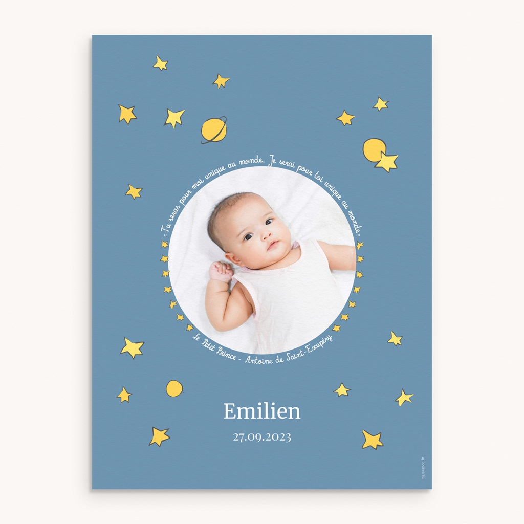 Affiche Déco Chambre Enfant Le Petit Prince 18