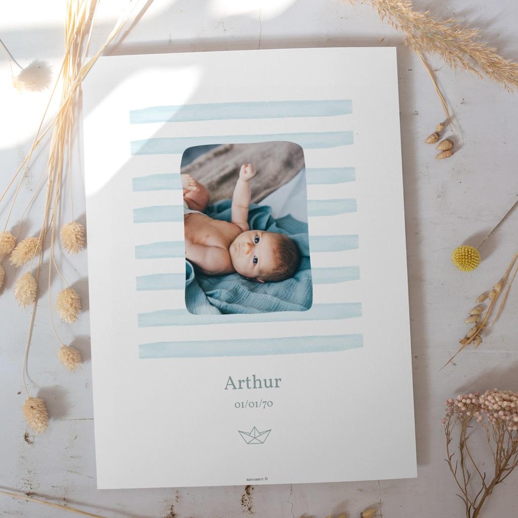 Affiche Déco Chambre Enfant Petit Bateau gratuit