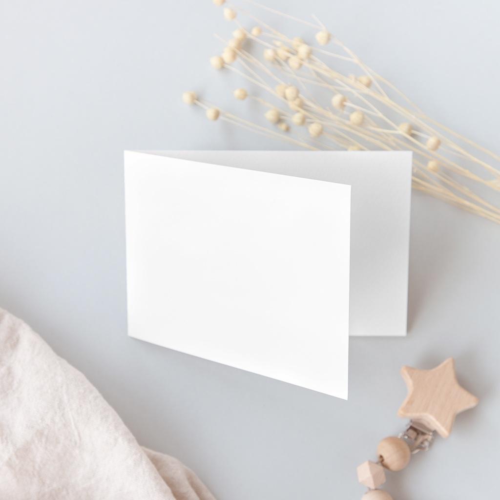 Faire-part de Naissance vierge format F gratuit
