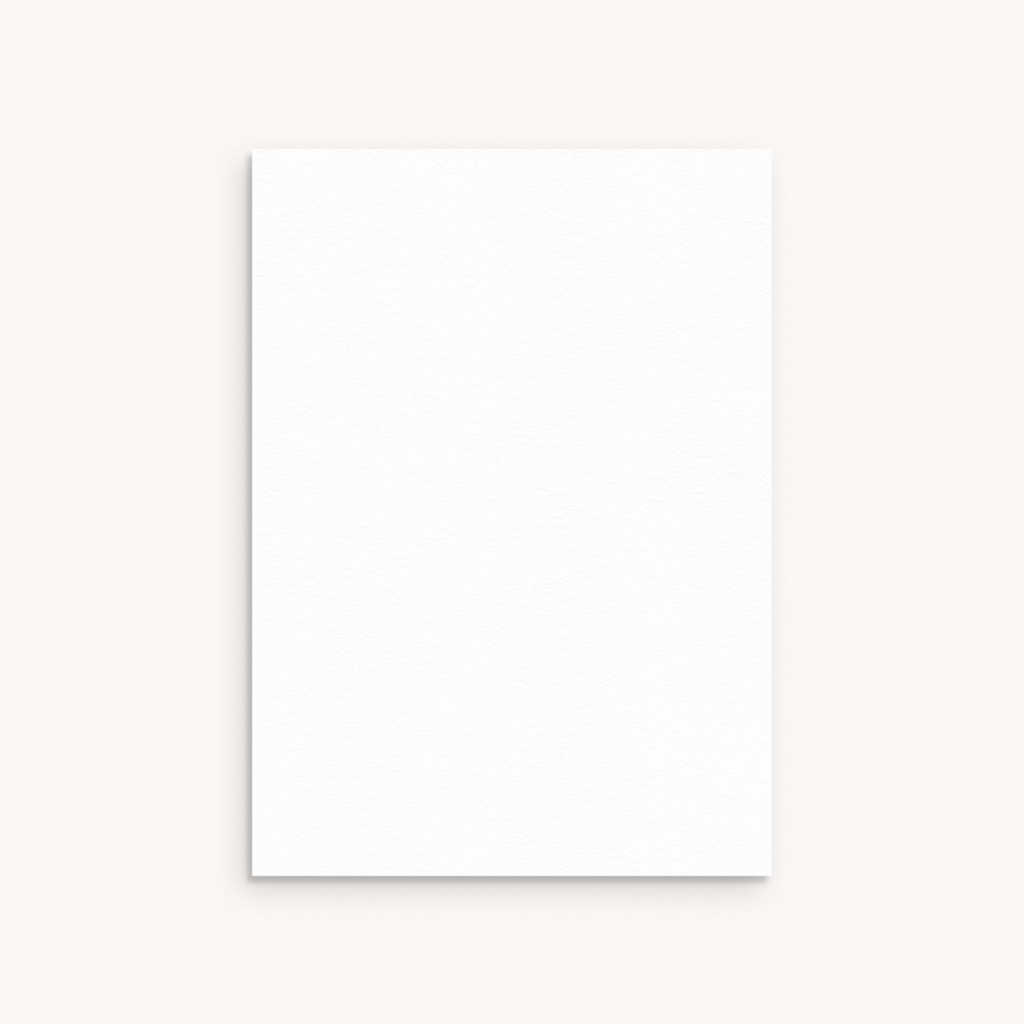 Carte de Remerciement Naissance vierge RM2 pas cher