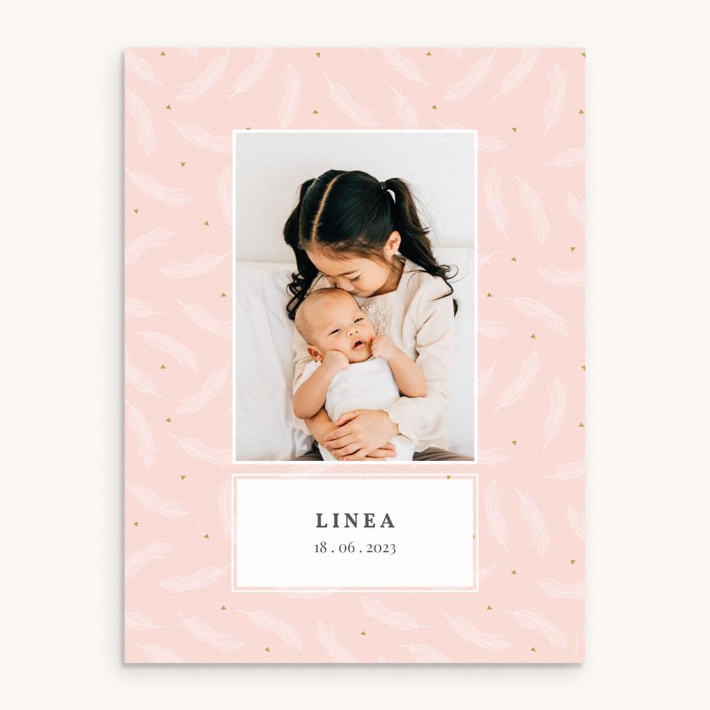 Affiche Déco Chambre Enfant Tendre Envol, plumes
