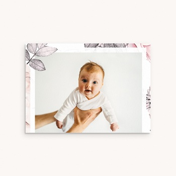 Carte de Remerciement Baptême Lily Rose, Photo pas cher