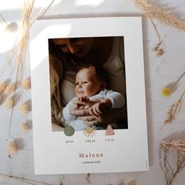Affiche Déco Chambre Enfant Trio de formes, Portrait, 30 x 40 cm gratuit