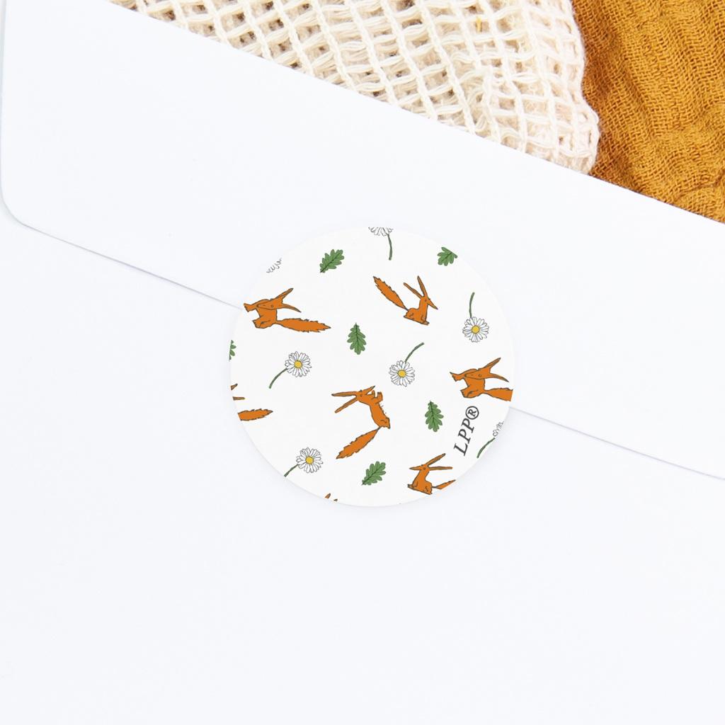 Sticker Enveloppe Naissance motif Renard, 4,5 cm gratuit