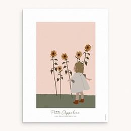 Affiche Déco Chambre Enfant Petite Blondinette
