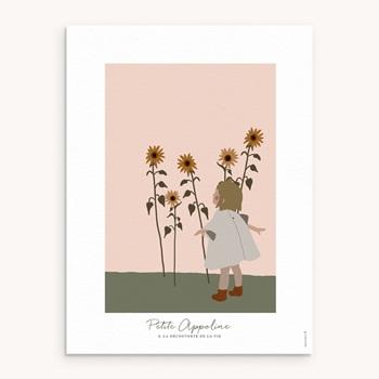 Affiche Déco Chambre Enfant Petite Blondinette original